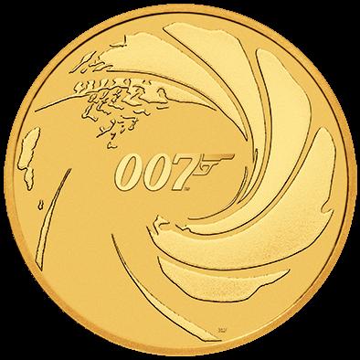 1 Unze Gold 007 James Bond 2020