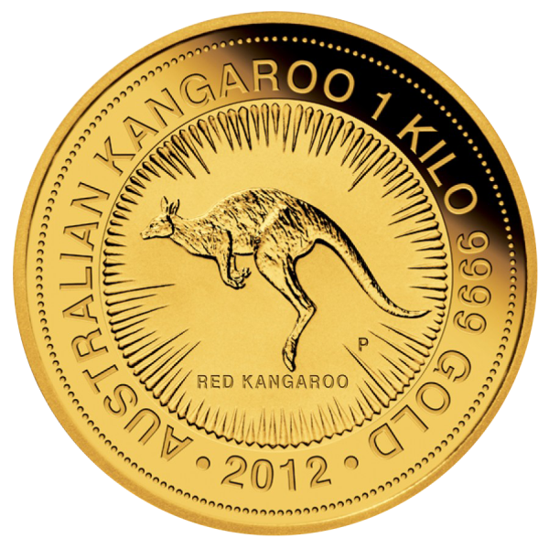 1 kg Gold Australien Känguru 2015
