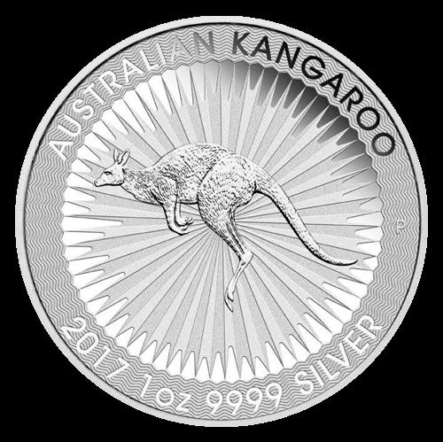 1 Unze Silber Känguru diverse Jahrgänge