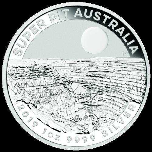 1 Unze Silber Australien Super Pit 2019
