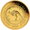 1 kg Gold Australien Känguru 2020