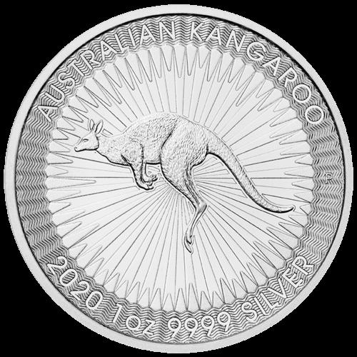 1 Unze Silber Känguru 2020 (lagernd Frankfurt)