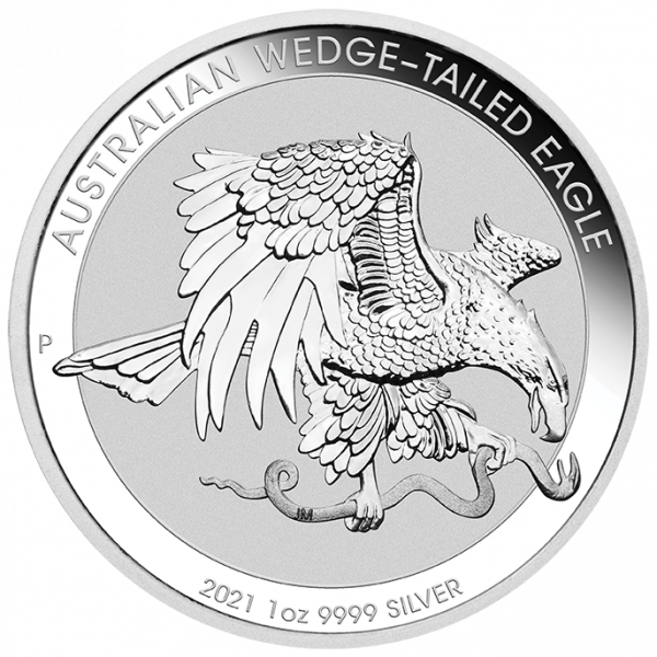 1 Unze Silber Wedge-tailed Eagle 2021
