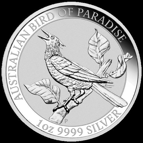 1 Unze Silber Australian Birds of Paradise - Manucodia Paradiesvogel 2019