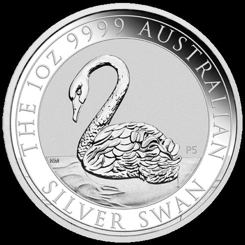 1 Unze Silber Australien Schwan 2021