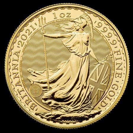 1 Unze Gold Britannia 2021