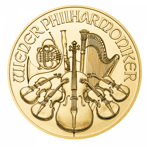 1 Unze Gold Wiener Philharmoniker 2021 (zollfrei)