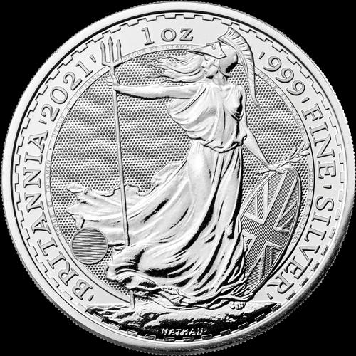 1 Unze Silber Britannia (zollfrei)