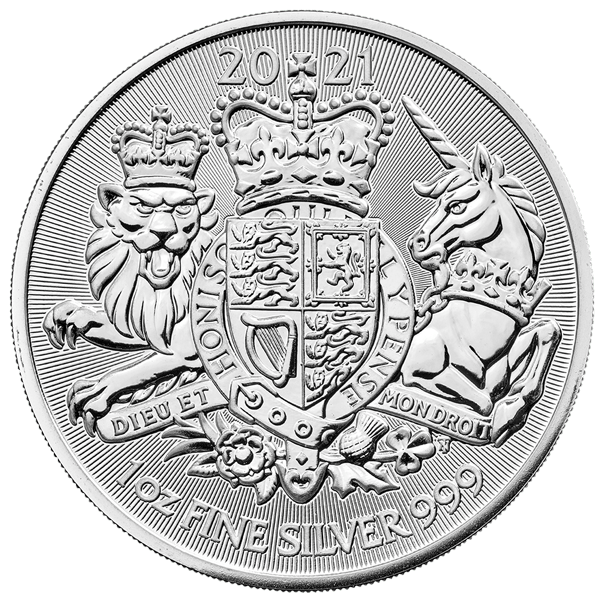 1 Unze Silber The Royal Arms 2021