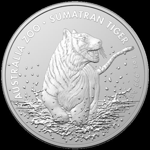 1 Unze Silber Australien (RAM) Sumatra Tiger 2020