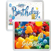 1 g Gold Geschenkkarte Happy Birthday