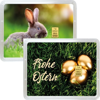 1 g Gold Geschenkkarte Frohe Ostern