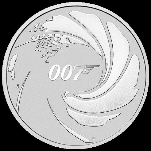 1 Unze Silber 007 James Bond 2020
