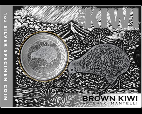 1 Unze Silber Kiwi 2019