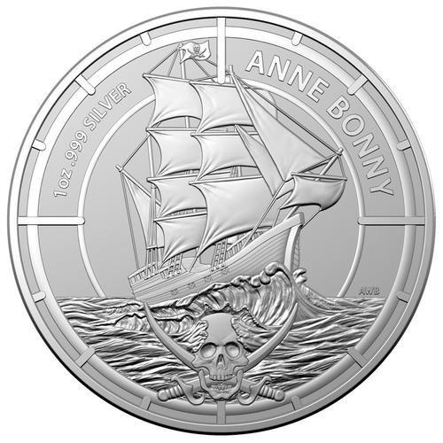 1 Unze Silber Pirate Queens Anne Bonny 2021