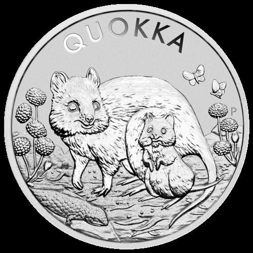 1 Unze Silber Quokka 2021