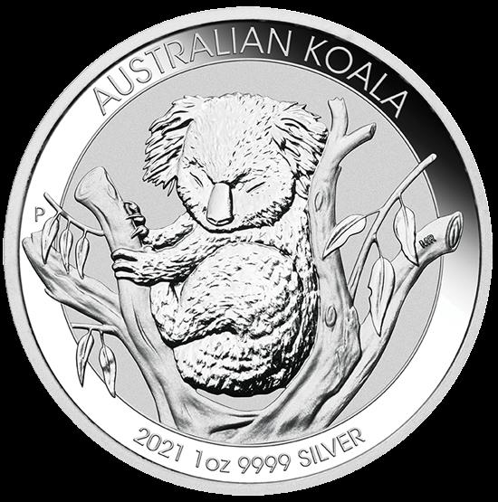 1 Unze Silber Australian Koala 2021