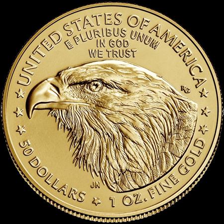 1 Unze Gold American Eagle 2021 Typ 2 (zollfrei)