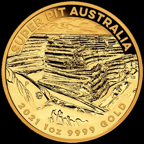 1 Unze Gold Australien Super Pit 2021