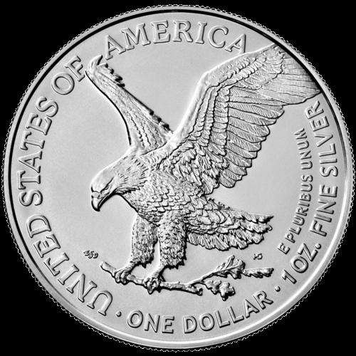 1 Unze Silber American Eagle Typ 2 (zollfrei)