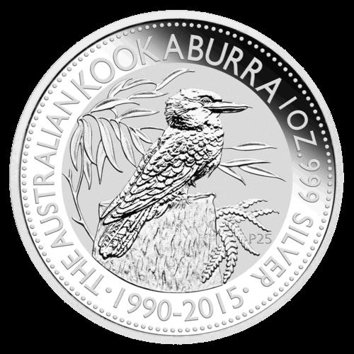 1 Unze Silber Kookaburra 2015
