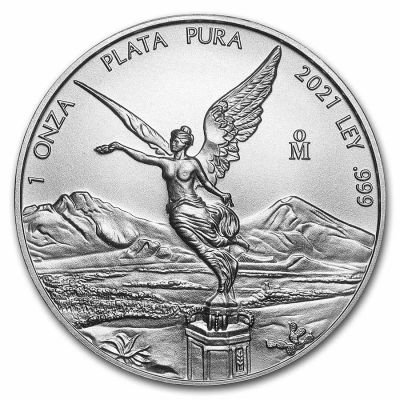 1 Unze Silber Mexiko Libertad 2021