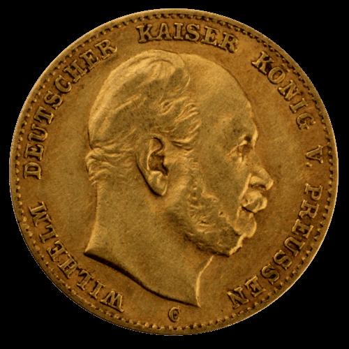 3,58 g Gold 10 Mark Deutsches Kaiserreich diverse Jahrgänge