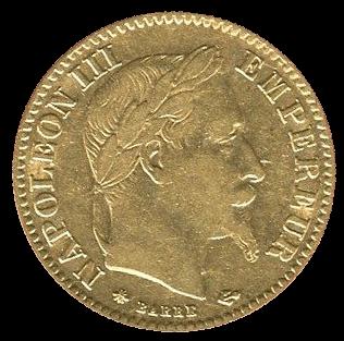 10 Francs Goldmünze Frankreich diverse Jahrgänge