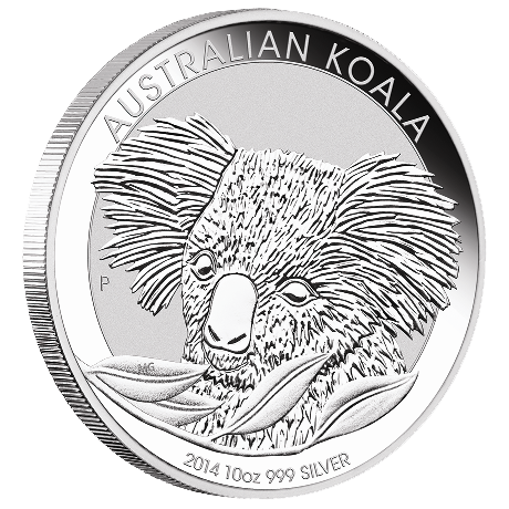 10 Unzen Silber Australian Koala 2014