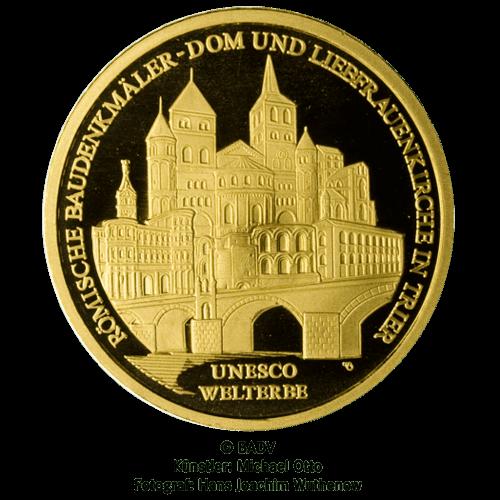 1/2 Unze Gold 100 Euro Deutschland 2009 UNESCO Welterbe - Trier