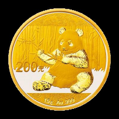 15 g Gold China Panda 2017