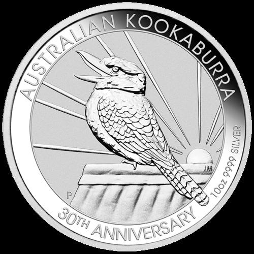 10 Unzen Silber Kookaburra 2020