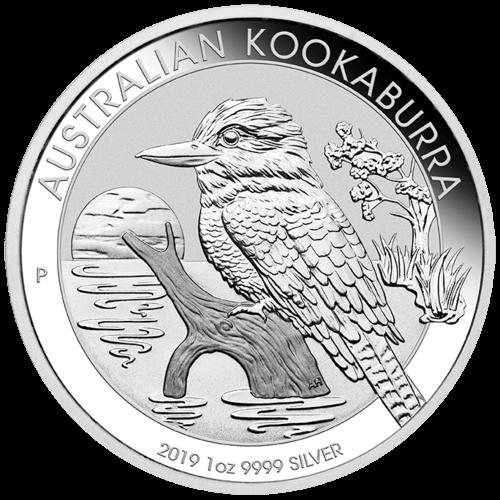 1 Unze Silber Kookaburra 2019
