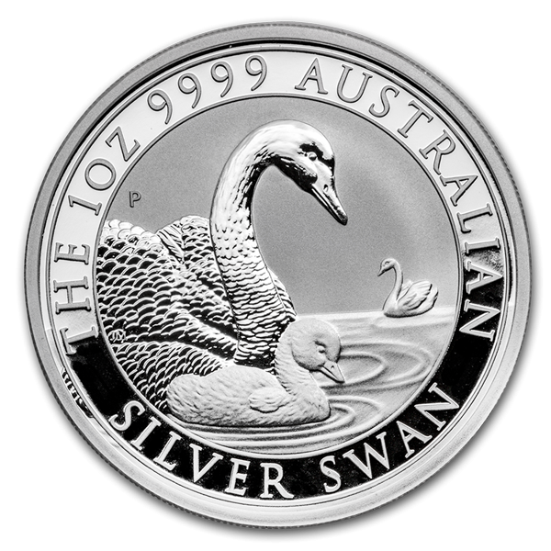 1 Unze Silber Australien Schwan 2019