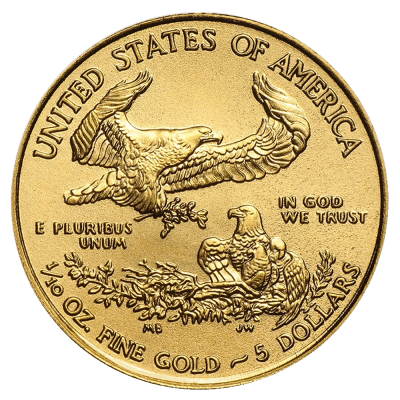 1/10 Unze Gold American Eagle 2021