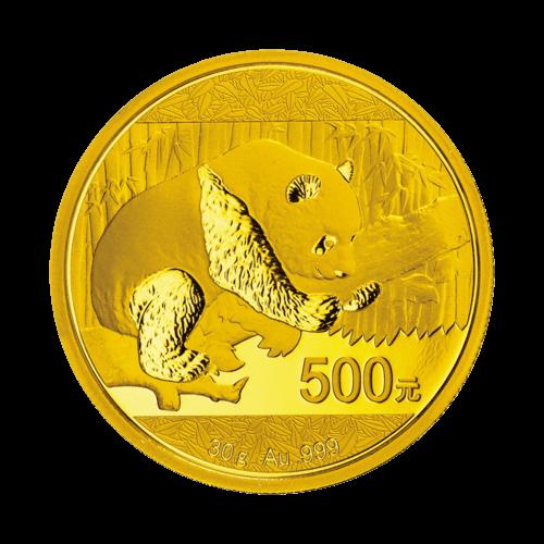 30 g China Panda Gold 2016