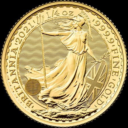 1/4 Unze Gold Britannia 2021