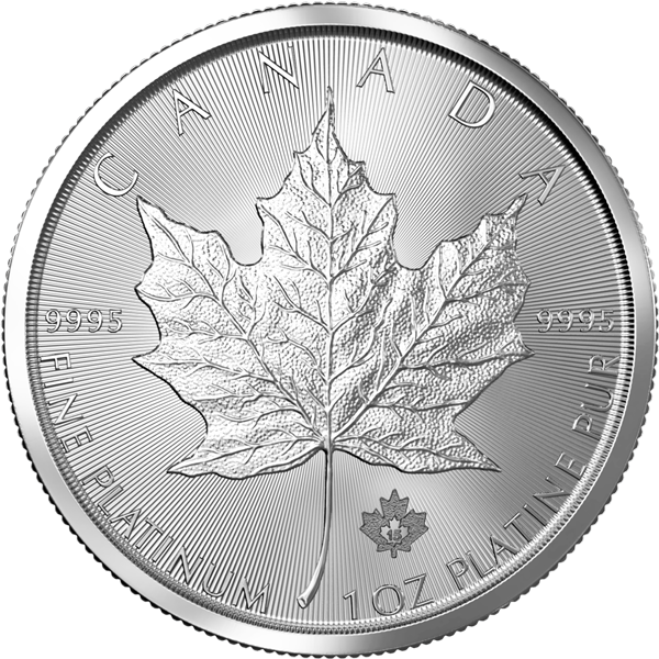 1 Unze Platin Maple Leaf