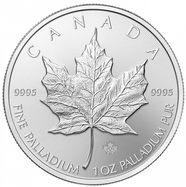 1 Unze Maple Leaf Palladium