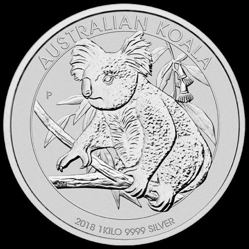 1 kg Silber Australian Koala 2018