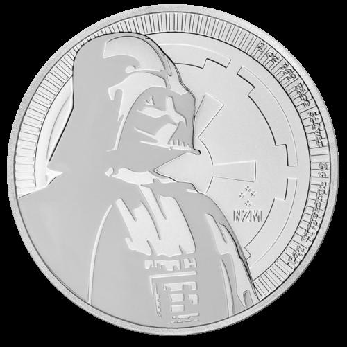 1 Unze Silber Star Wars Darth Vader 2017