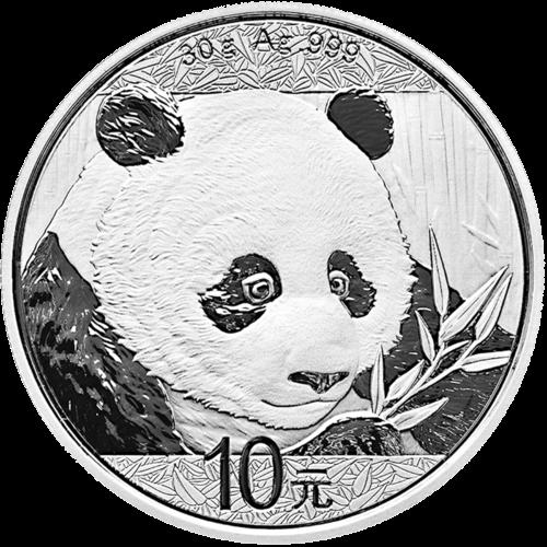 30 g Silber China Panda 2018