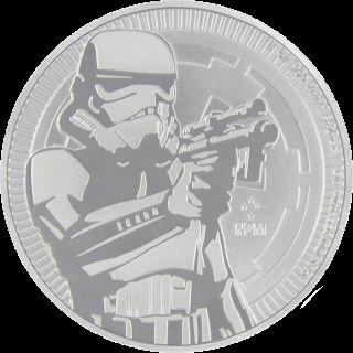 1 Unze Silber Star Wars Stormtrooper 2018