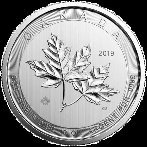 10 Unzen Silber Magnificent Maple Leaf 2019