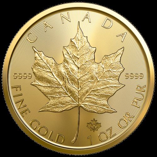 1 Unze Gold Maple Leaf 2021 (mehrwertsteuerfrei)