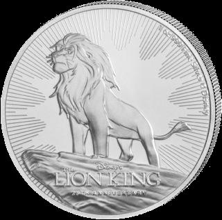 1 Unze Silber Disney Der König der Löwen 2019
