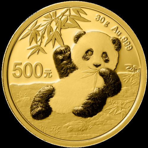 30 g Gold China Panda 2020