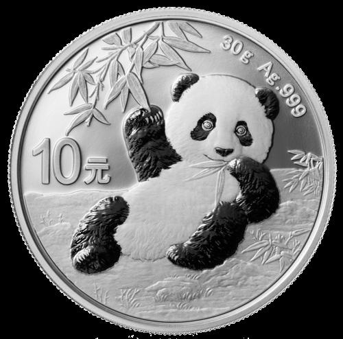 30 g Silber China Panda 2020