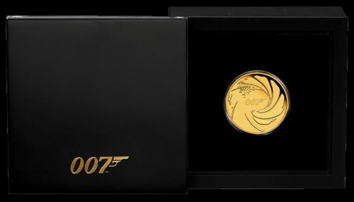 1/4 Unze Gold 007 James Bond 2020 Proof-Qualität