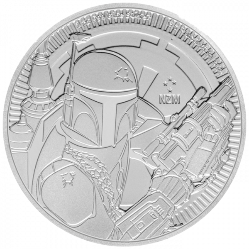 1 Unze Silber Star Wars Boba Fett 2020